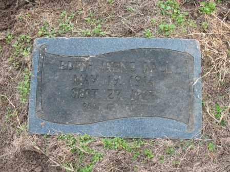 BALL, EDITH IRENE - Cross County, Arkansas | EDITH IRENE BALL - Arkansas Gravestone Photos