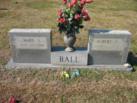 BALL, MARY L - Cross County, Arkansas | MARY L BALL - Arkansas Gravestone Photos