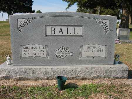 "BALL, SHERMAN WILLARD ""BILL"" - Cross County, Arkansas | SHERMAN WILLARD ""BILL"" BALL - Arkansas Gravestone Photos"