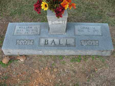 CATHEY BALL, OPAL M - Cross County, Arkansas | OPAL M CATHEY BALL - Arkansas Gravestone Photos
