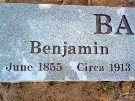 BANTON, BENJAMIN - Cross County, Arkansas | BENJAMIN BANTON - Arkansas Gravestone Photos