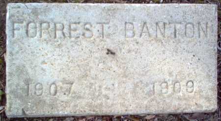 BANTON, FORREST - Cross County, Arkansas | FORREST BANTON - Arkansas Gravestone Photos