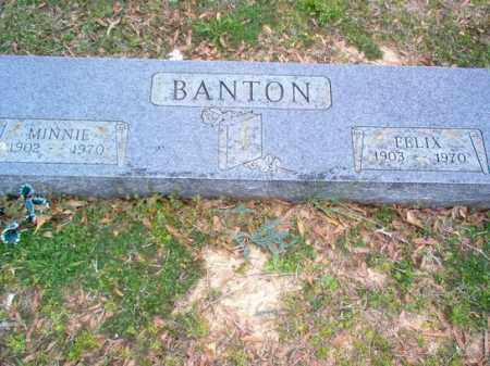 BANTON, FELIX - Cross County, Arkansas | FELIX BANTON - Arkansas Gravestone Photos