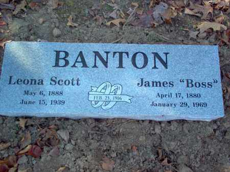 "BANTON, JAMES ALEXANDER ""BOSS"" - Cross County, Arkansas 