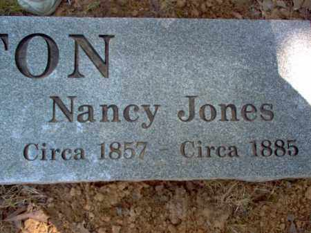 JONES BANTON, NANCY - Cross County, Arkansas | NANCY JONES BANTON - Arkansas Gravestone Photos