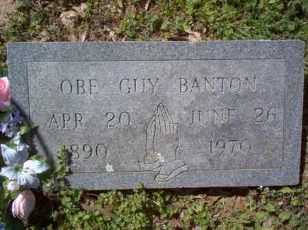 BANTON, OBE GUY - Cross County, Arkansas | OBE GUY BANTON - Arkansas Gravestone Photos