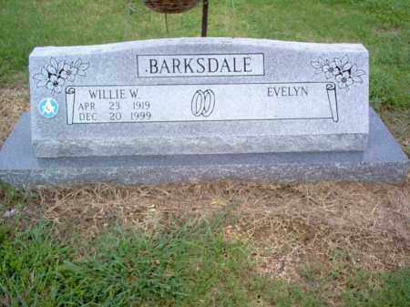 BARKSDALE, WILLIE W - Cross County, Arkansas | WILLIE W BARKSDALE - Arkansas Gravestone Photos