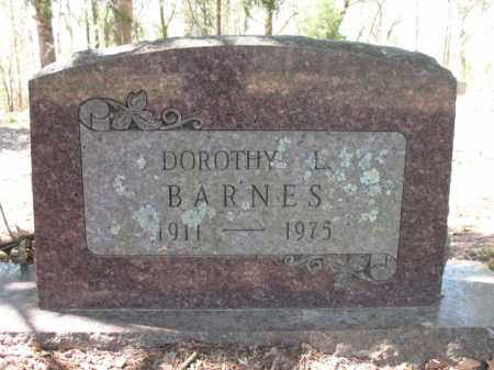 BARNES, DOROTHY L. - Cross County, Arkansas | DOROTHY L. BARNES - Arkansas Gravestone Photos