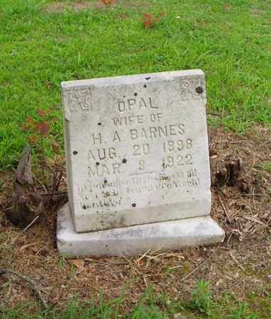 BARNES, OPAL - Cross County, Arkansas | OPAL BARNES - Arkansas Gravestone Photos