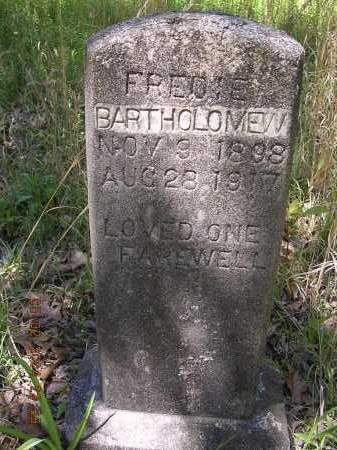 BARTHOLOMEW, FREDIE - Cross County, Arkansas | FREDIE BARTHOLOMEW - Arkansas Gravestone Photos
