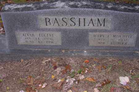 MITCHELL BASSHAM, MARY F - Cross County, Arkansas | MARY F MITCHELL BASSHAM - Arkansas Gravestone Photos