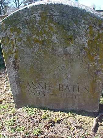 BATES, CASSIE - Cross County, Arkansas | CASSIE BATES - Arkansas Gravestone Photos