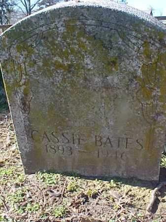 BATES, CASSIE - Cross County, Arkansas | CASSIE BATES - Arkansas Gravestone Photos