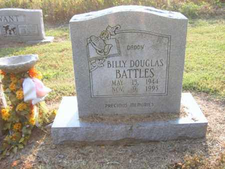 BATTLES, BILLY DOUGLAS - Cross County, Arkansas | BILLY DOUGLAS BATTLES - Arkansas Gravestone Photos