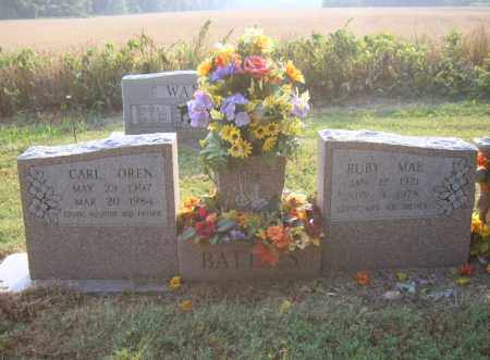 BATTLES, CARL OREN - Cross County, Arkansas | CARL OREN BATTLES - Arkansas Gravestone Photos
