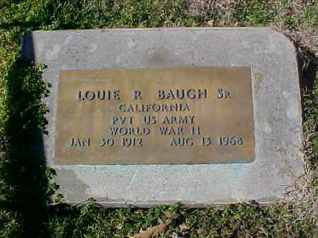 BAUGH, SR (VETERAN WWII), LOUIE R - Cross County, Arkansas | LOUIE R BAUGH, SR (VETERAN WWII) - Arkansas Gravestone Photos