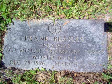 BEASLEY  (VETERAN WWI), FRANK - Cross County, Arkansas | FRANK BEASLEY  (VETERAN WWI) - Arkansas Gravestone Photos