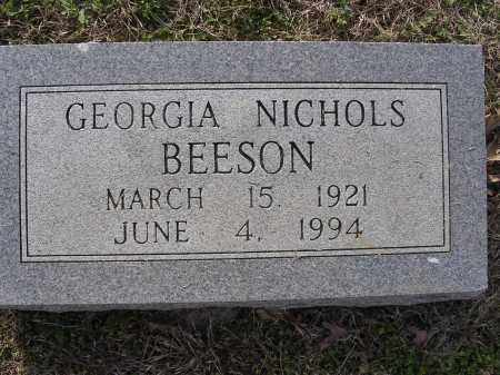 BEESON, GEORGIA - Cross County, Arkansas | GEORGIA BEESON - Arkansas Gravestone Photos