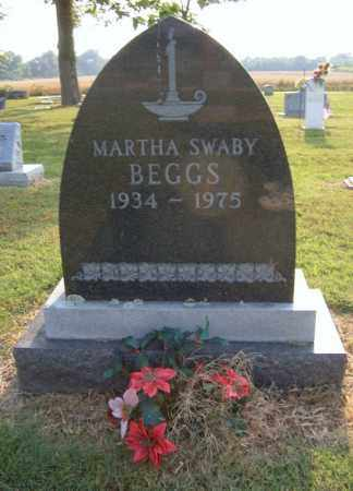 SWABY BEGGS, MARTHA - Cross County, Arkansas | MARTHA SWABY BEGGS - Arkansas Gravestone Photos