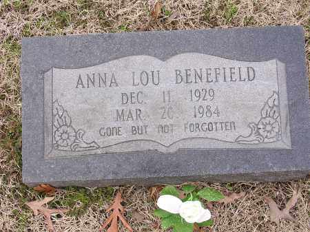 BENEFIELD, ANNA LOU - Cross County, Arkansas | ANNA LOU BENEFIELD - Arkansas Gravestone Photos