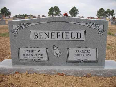 BENEFIELD, DWIGHT W - Cross County, Arkansas | DWIGHT W BENEFIELD - Arkansas Gravestone Photos