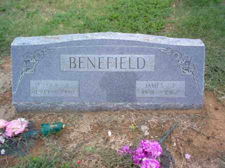 BENEFIELD, JAMES R - Cross County, Arkansas | JAMES R BENEFIELD - Arkansas Gravestone Photos