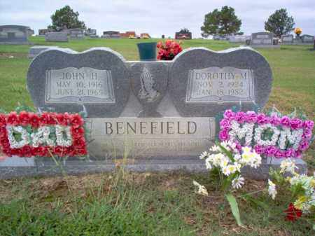 BENEFIELD, JOHN H - Cross County, Arkansas | JOHN H BENEFIELD - Arkansas Gravestone Photos