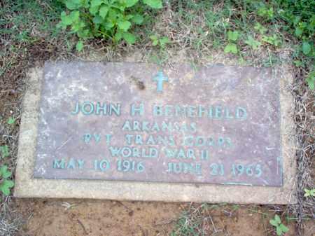BENEFIELD (VETERAN WWII), JOHN H - Cross County, Arkansas | JOHN H BENEFIELD (VETERAN WWII) - Arkansas Gravestone Photos