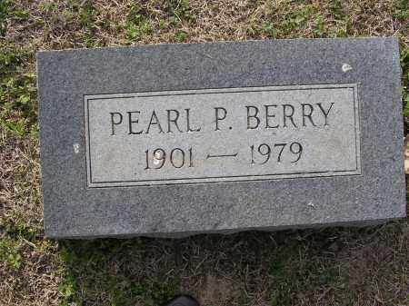 BERRY, PEARL P - Cross County, Arkansas | PEARL P BERRY - Arkansas Gravestone Photos