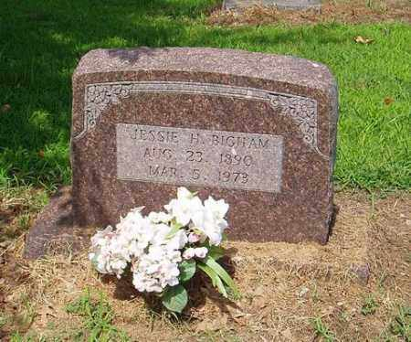 BIGHAM, JESSIE H. - Cross County, Arkansas | JESSIE H. BIGHAM - Arkansas Gravestone Photos