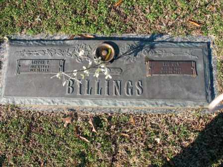 HALL BILLINGS, LOU OLA - Cross County, Arkansas | LOU OLA HALL BILLINGS - Arkansas Gravestone Photos