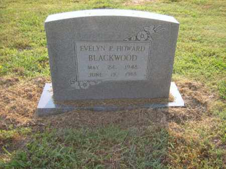 BLACKWOOD, EVELYN P - Cross County, Arkansas | EVELYN P BLACKWOOD - Arkansas Gravestone Photos