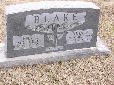 BLAKE, LENA T - Cross County, Arkansas | LENA T BLAKE - Arkansas Gravestone Photos