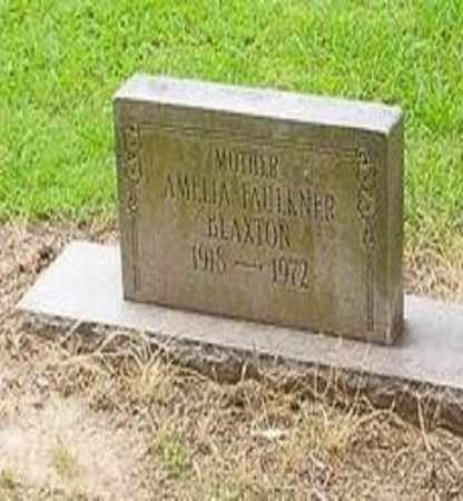 BLAXTON, AMELIA - Cross County, Arkansas | AMELIA BLAXTON - Arkansas Gravestone Photos