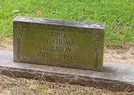 BLAXTON, GUY THOMAS - Cross County, Arkansas | GUY THOMAS BLAXTON - Arkansas Gravestone Photos