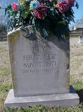 BLY, LOGAN - Cross County, Arkansas | LOGAN BLY - Arkansas Gravestone Photos
