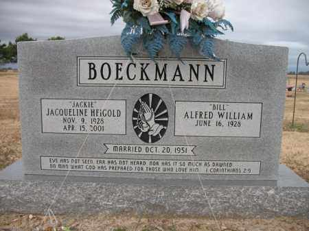 "HEIGOLD BOECKMANN, JACQUELINE ""JACKIE"" - Cross County, Arkansas 