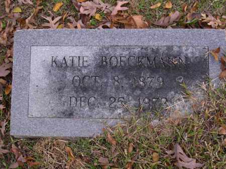 BOECKMANN, KATIE - Cross County, Arkansas | KATIE BOECKMANN - Arkansas Gravestone Photos
