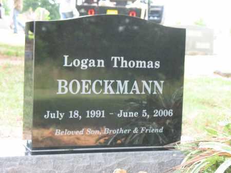 BOECKMANN, LOGAN THOMAS - Cross County, Arkansas   LOGAN THOMAS BOECKMANN - Arkansas Gravestone Photos