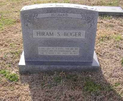 BOGER, HIRAM S - Cross County, Arkansas | HIRAM S BOGER - Arkansas Gravestone Photos