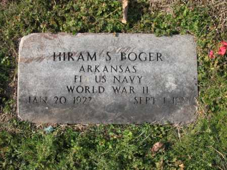 BOGER (VETERAN WWII), HIRAM S - Cross County, Arkansas | HIRAM S BOGER (VETERAN WWII) - Arkansas Gravestone Photos