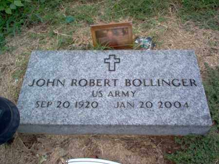 BOLLINGER (VETERAN), JOHN ROBERT - Cross County, Arkansas | JOHN ROBERT BOLLINGER (VETERAN) - Arkansas Gravestone Photos
