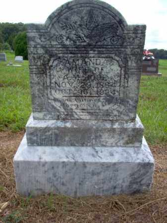 BOOE, AMANDA - Cross County, Arkansas | AMANDA BOOE - Arkansas Gravestone Photos