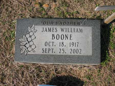 BOONE, JAMES WILLIAM - Cross County, Arkansas | JAMES WILLIAM BOONE - Arkansas Gravestone Photos