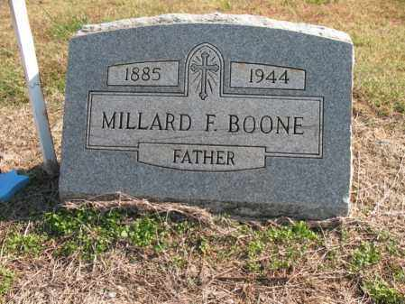 BOONE, MILLARD F - Cross County, Arkansas | MILLARD F BOONE - Arkansas Gravestone Photos