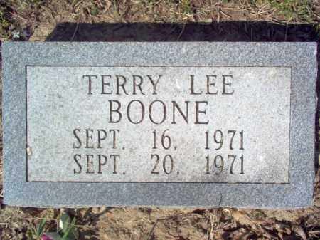 BOONE, TERRY LEE - Cross County, Arkansas | TERRY LEE BOONE - Arkansas Gravestone Photos