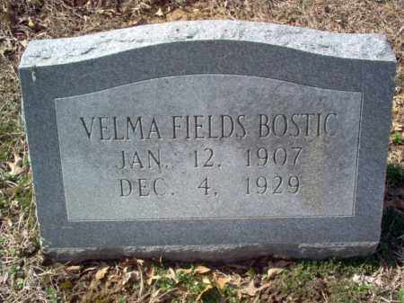 BOSTIC, VELMA - Cross County, Arkansas | VELMA BOSTIC - Arkansas Gravestone Photos