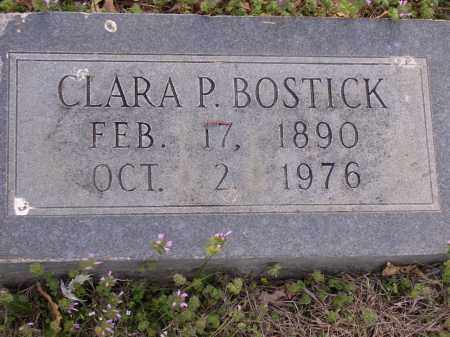 BOSTICK, CLARA P - Cross County, Arkansas | CLARA P BOSTICK - Arkansas Gravestone Photos