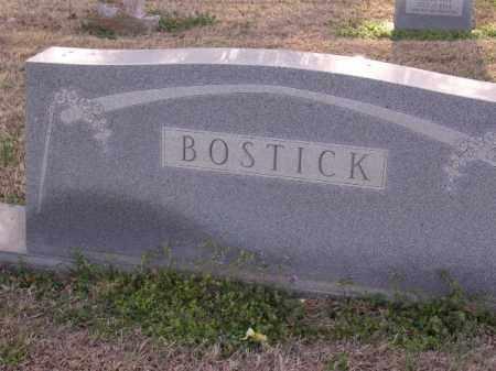 BOSTICK FAMILY STONE,  - Cross County, Arkansas |  BOSTICK FAMILY STONE - Arkansas Gravestone Photos