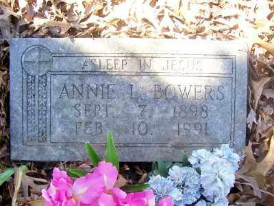 BOWERS, ANNIE L. - Cross County, Arkansas | ANNIE L. BOWERS - Arkansas Gravestone Photos
